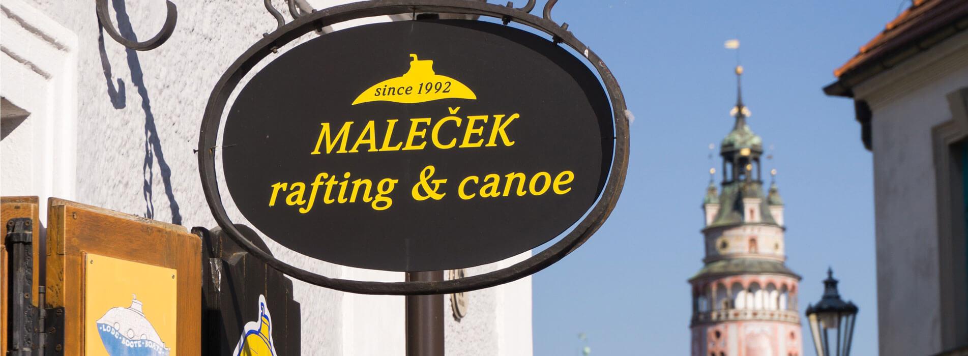 Maleček rafting & canoe obchod