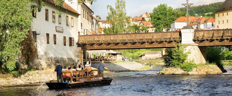 Raft rental Cesky Krumlov
