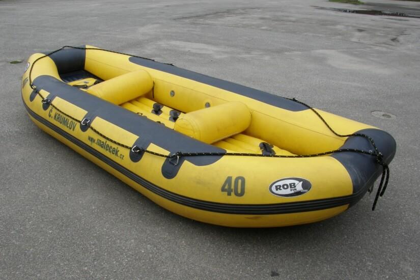 Velký raft - půjčovna raftů Vltava