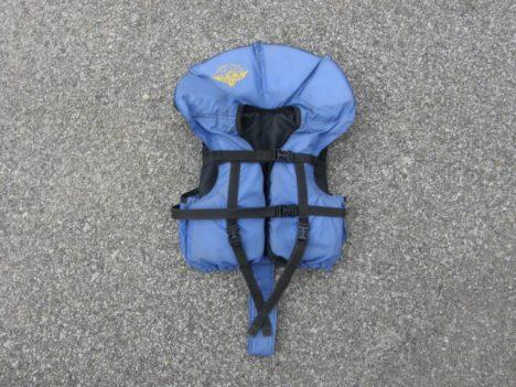 Dětská vodácká vesta - půjčovna Vltava